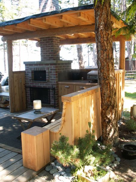 Outdoor Cooking Station Plans Of Outdoor Fireplace Cooking Station Todsen Design