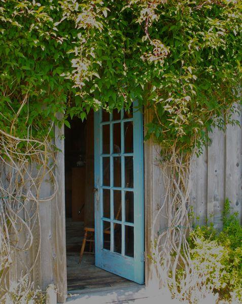 Turquoise door…..