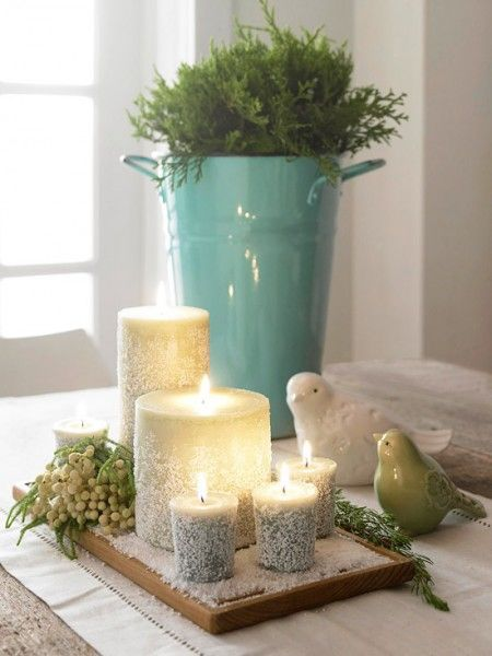Epsom Salt Candles…..