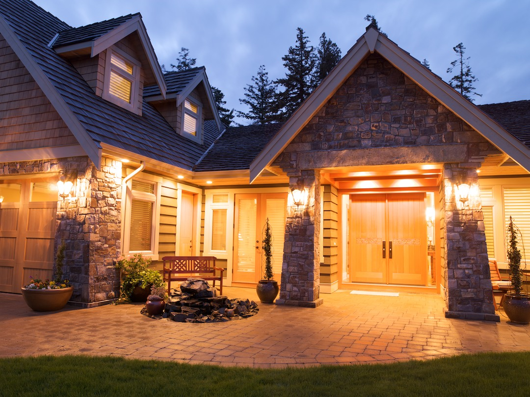 Wood Stone House Todsen Design