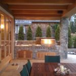 Outdoor cooking area…..