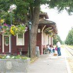 Train station…..