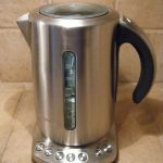 Stainless steel kettle…..