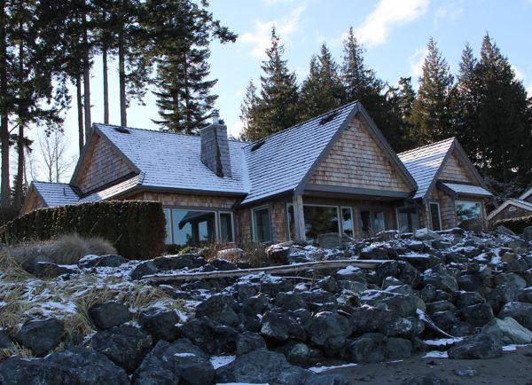 Point Mercer beach houses…..