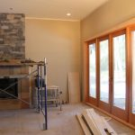 Doors, trim, rock & tile…..